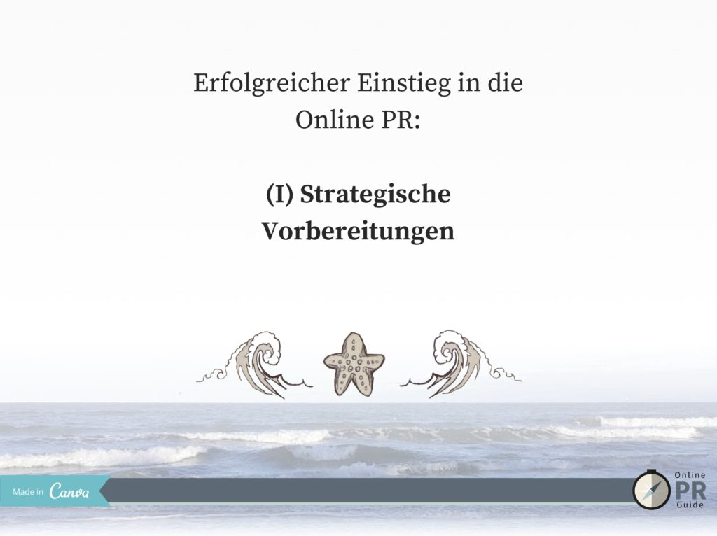 Einstieg_Online PR